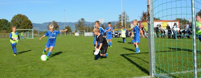 U8-Turnier auf dem Sportplatz Sulz